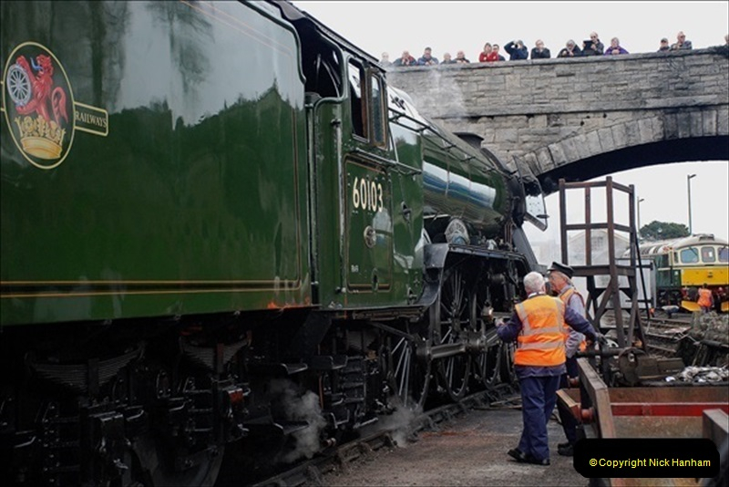 2019-03-22 Flying Scotsman at Swanage. (260) 433
