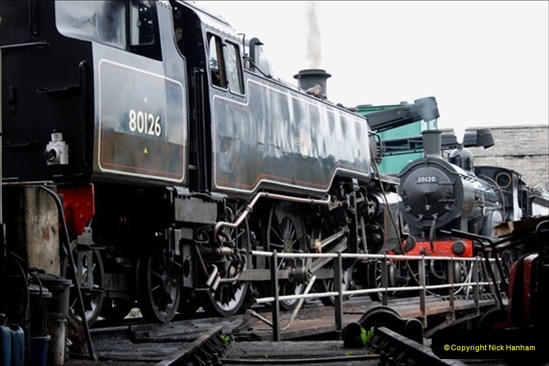 2019-03-22 Flying Scotsman at Swanage. (30) 203