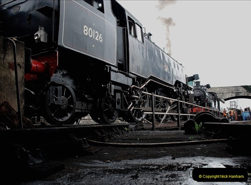 2019-03-22 Flying Scotsman at Swanage. (32) 205