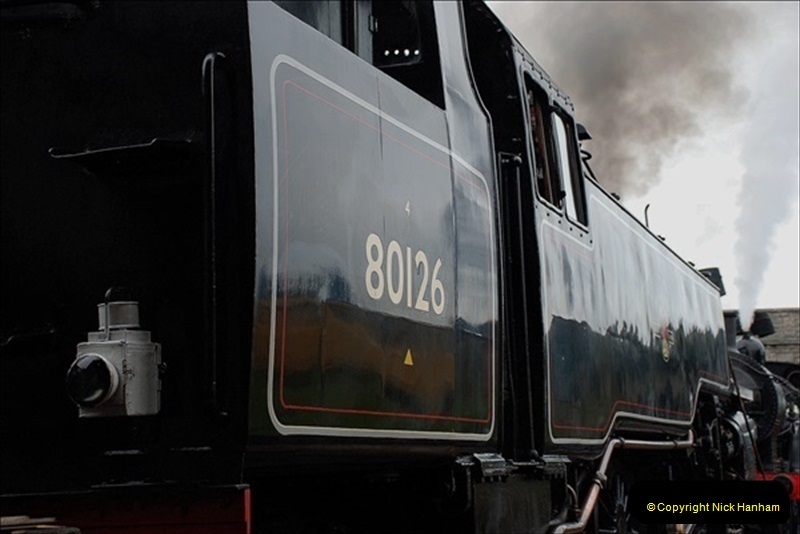 2019-03-22 Flying Scotsman at Swanage. (33) 206