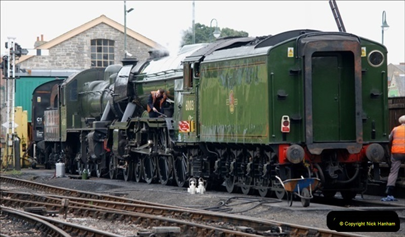 2019-03-22 Flying Scotsman at Swanage. (54) 227