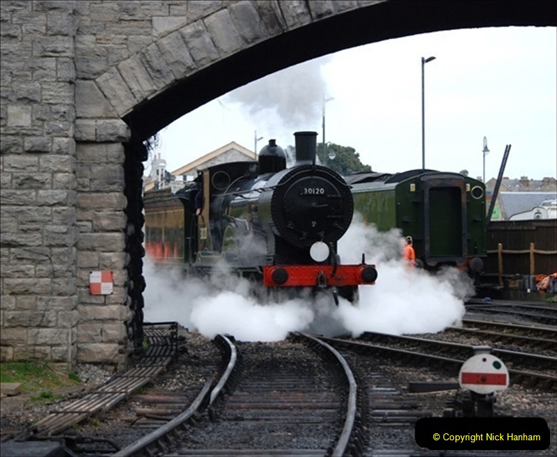 2019-03-22 Flying Scotsman at Swanage. (56) 229