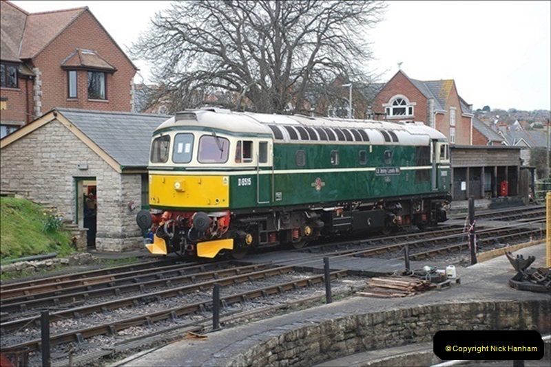 2019-03-22 Flying Scotsman at Swanage. (67) 240