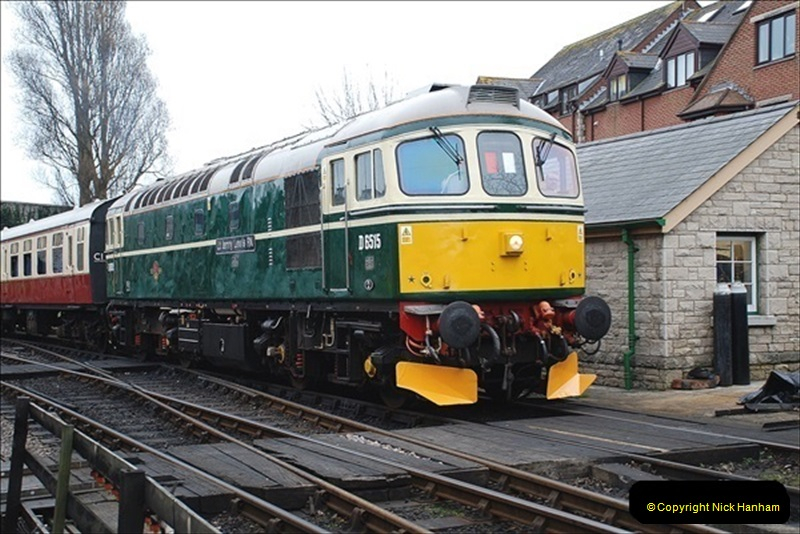 2019-03-22 Flying Scotsman at Swanage. (70) 243