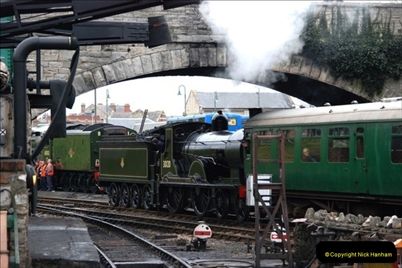 2019-03-22 Flying Scotsman at Swanage. (94) 267