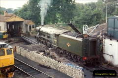 Flying Scotsman at Swanage 1994 and 2019