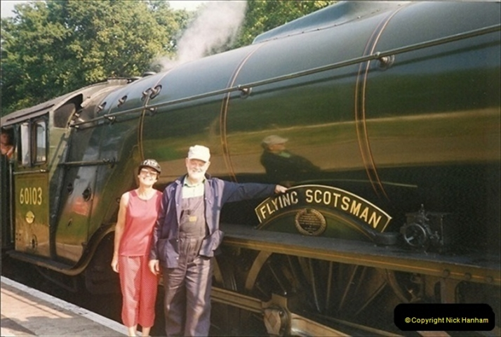 1994-07-16 Flying Scotsman comes to Swanage. (14)  014