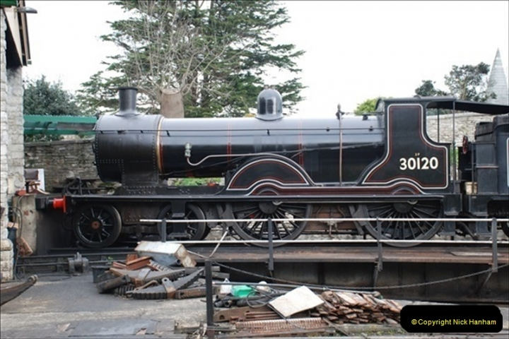 2019-03-20 Flying Scotsman at Swanage (78) 124