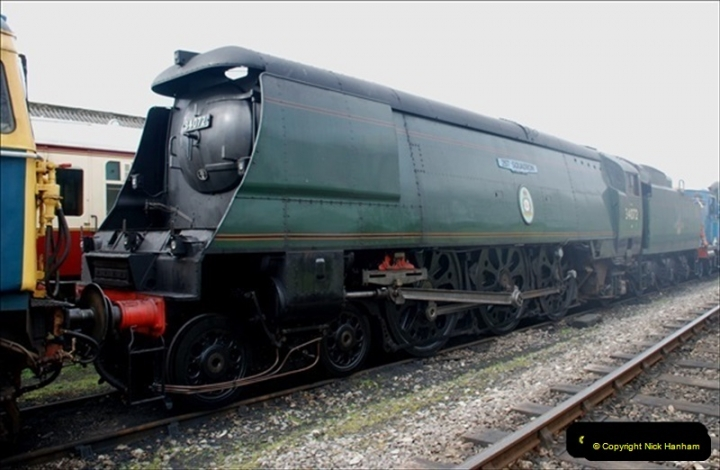 2019-03-20 Flying Scotsman at Swanage (83) 129