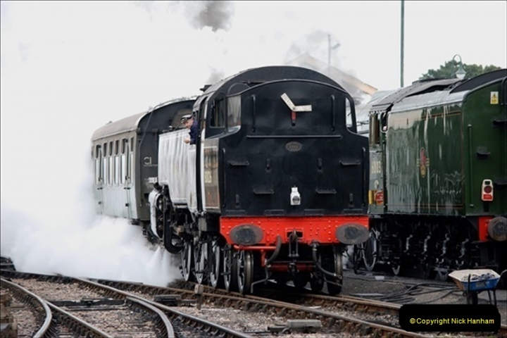 2019-03-22 Flying Scotsman at Swanage. (108) 281