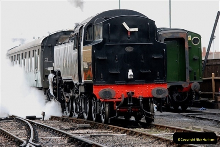 2019-03-22 Flying Scotsman at Swanage. (109) 282