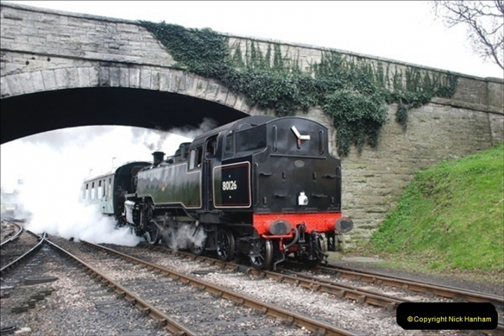 2019-03-22 Flying Scotsman at Swanage. (110) 283
