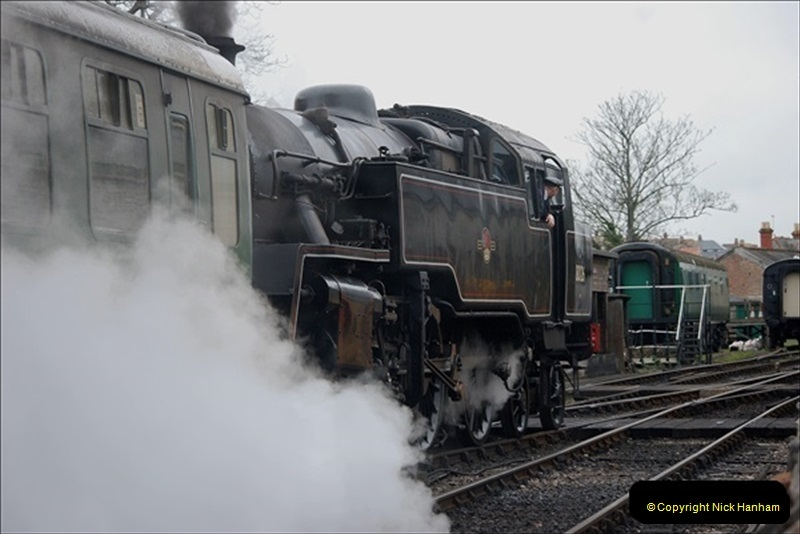 2019-03-22 Flying Scotsman at Swanage. (113) 286
