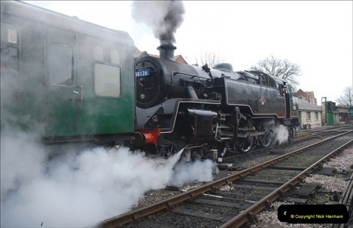 2019-03-22 Flying Scotsman at Swanage. (115) 288