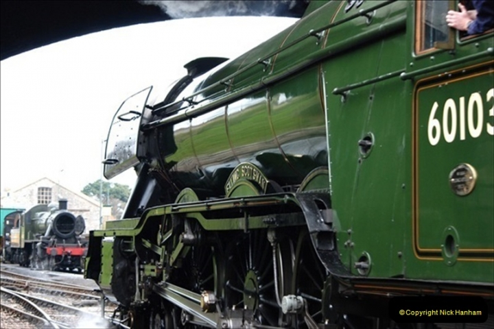 2019-03-22 Flying Scotsman at Swanage. (129) 302