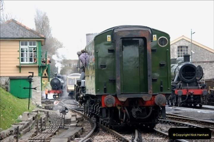 2019-03-22 Flying Scotsman at Swanage. (132) 305