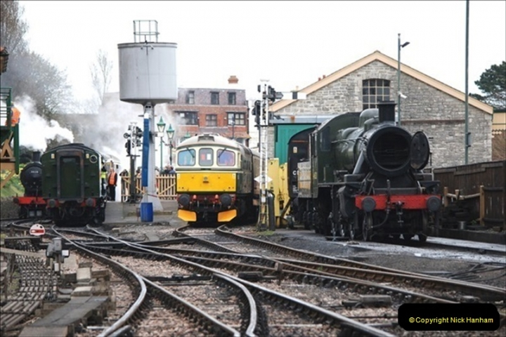 2019-03-22 Flying Scotsman at Swanage. (134) 307
