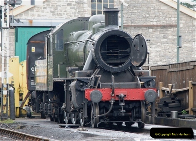 2019-03-22 Flying Scotsman at Swanage. (135) 308