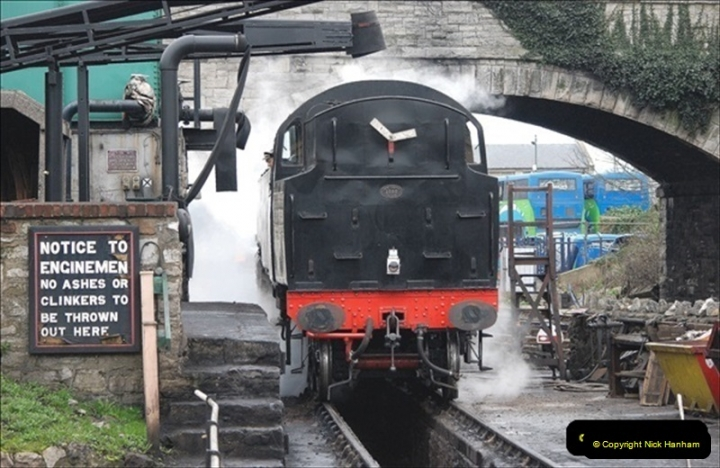 2019-03-22 Flying Scotsman at Swanage. (164) 337