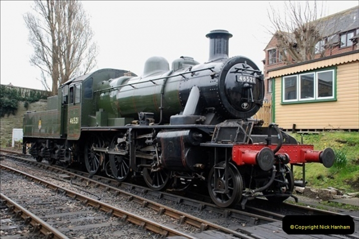 2019-03-22 Flying Scotsman at Swanage. (166) 339