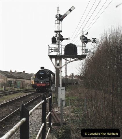 2019-03-22 Flying Scotsman at Swanage. (169) 342