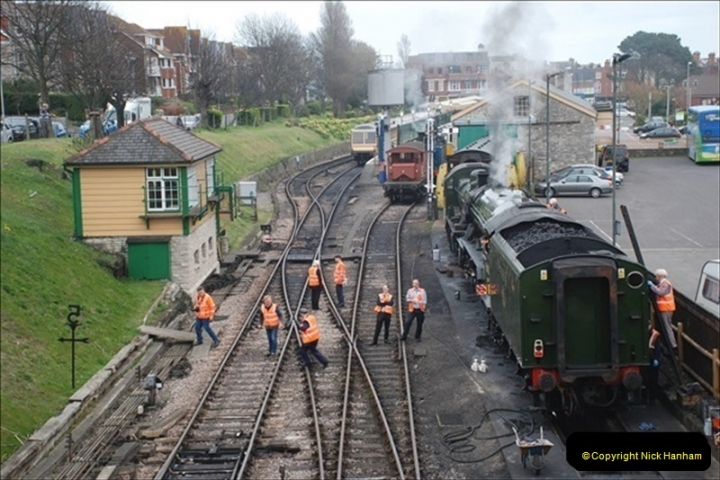 2019-03-22 Flying Scotsman at Swanage. (17) 190