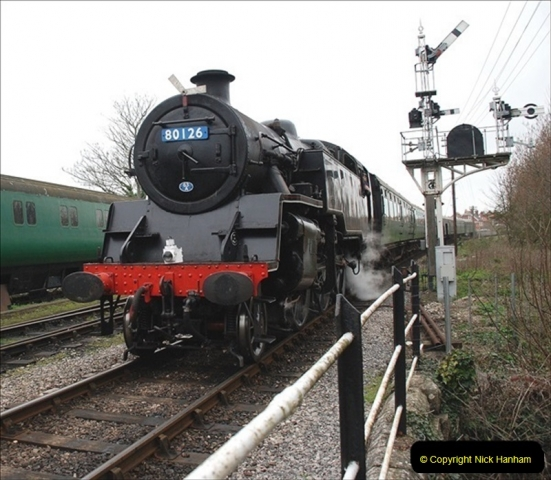 2019-03-22 Flying Scotsman at Swanage. (171) 344