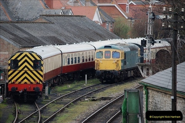 2019-03-22 Flying Scotsman at Swanage. (18) 191
