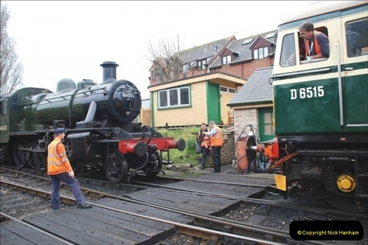 2019-03-22 Flying Scotsman at Swanage. (194) 367