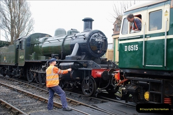 2019-03-22 Flying Scotsman at Swanage. (196) 369