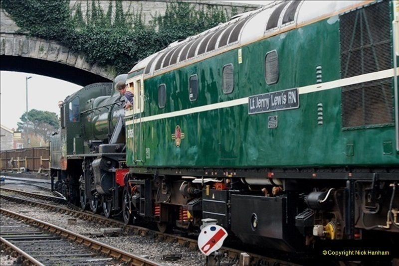 2019-03-22 Flying Scotsman at Swanage. (198) 371