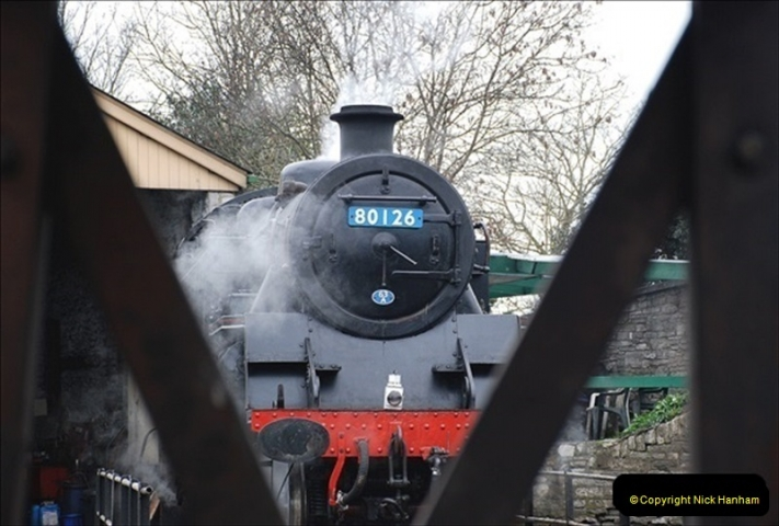 2019-03-22 Flying Scotsman at Swanage. (200) 373