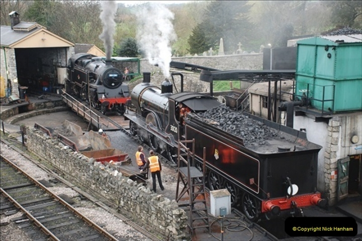 2019-03-22 Flying Scotsman at Swanage. (21) 194