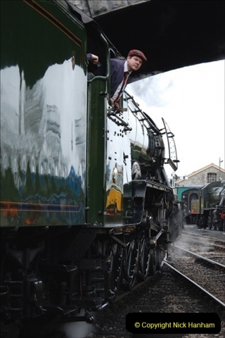 2019-03-22 Flying Scotsman at Swanage. (213) 386
