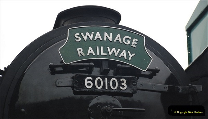 2019-03-22 Flying Scotsman at Swanage. (217) 390