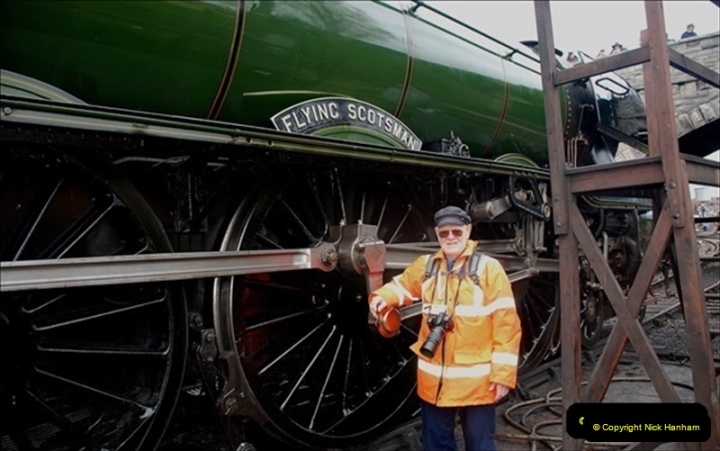 2019-03-22 Flying Scotsman at Swanage. (220) 393