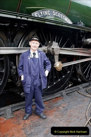 2019-03-22 Flying Scotsman at Swanage. (222) 395