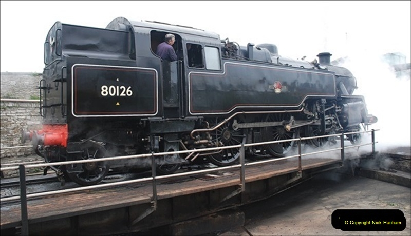 2019-03-22 Flying Scotsman at Swanage. (238) 411