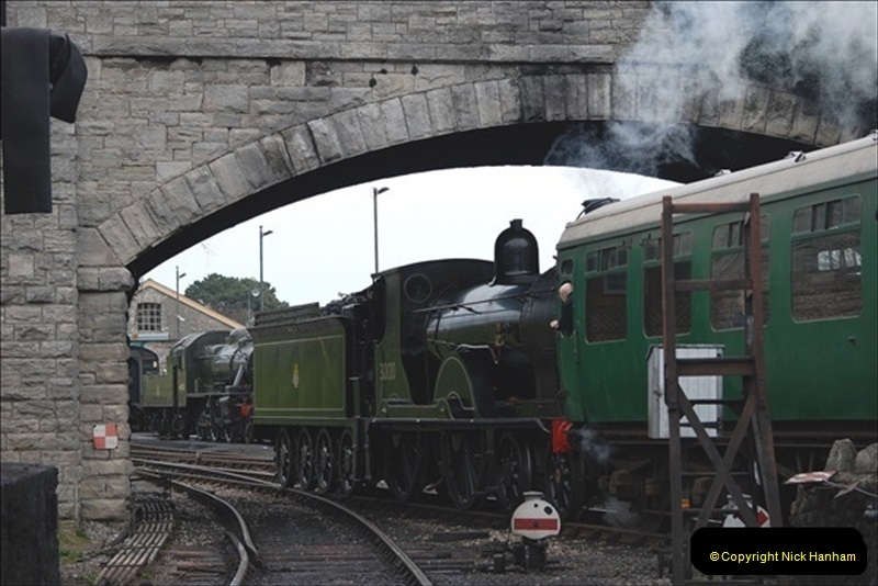 2019-03-22 Flying Scotsman at Swanage. (242) 415