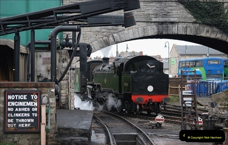 2019-03-22 Flying Scotsman at Swanage. (243) 416