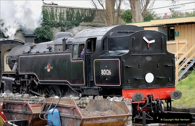 2019-03-22 Flying Scotsman at Swanage. (244) 417