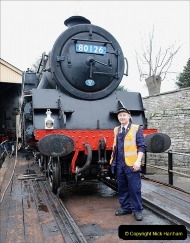 2019-03-22 Flying Scotsman at Swanage. (41) 214