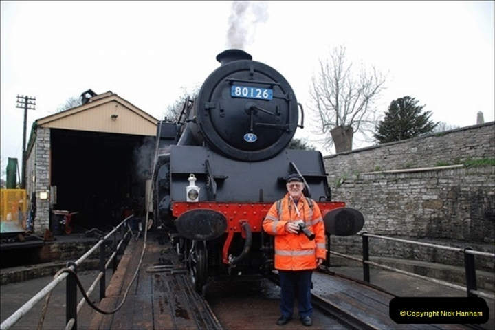 2019-03-22 Flying Scotsman at Swanage. (42) 215
