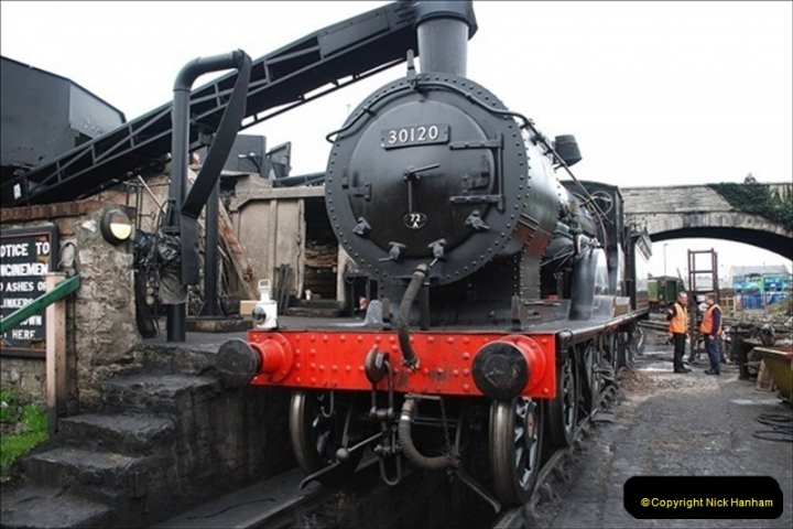 2019-03-22 Flying Scotsman at Swanage. (43) 216