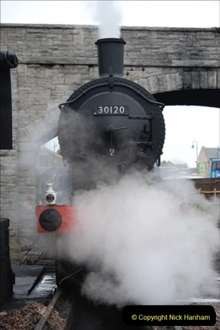 2019-03-22 Flying Scotsman at Swanage. (47) 220