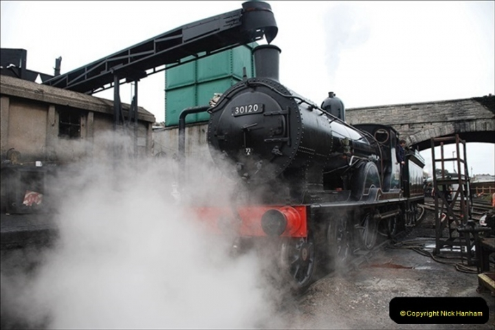 2019-03-22 Flying Scotsman at Swanage. (48) 221