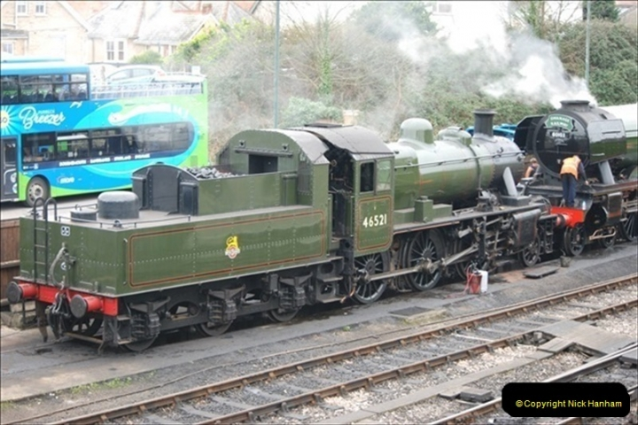 2019-03-22 Flying Scotsman at Swanage. (9) 182