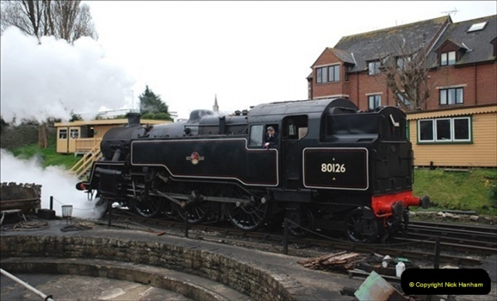 2019-03-22 Flying Scotsman at Swanage. (95) 268