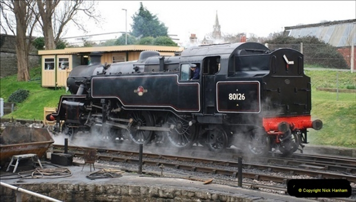 2019-03-22 Flying Scotsman at Swanage. (96) 269