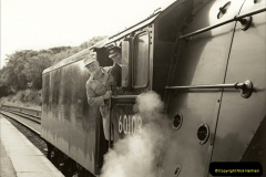 1994-07-16 Flying Scotsman comes to Swanage. (12) Your Host conducting gauging trials on FS.012